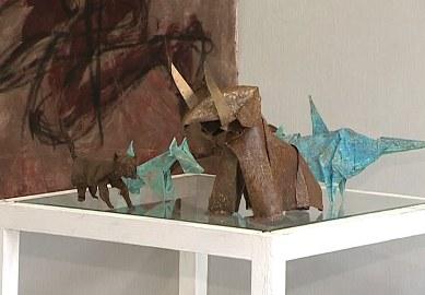 Оригами из метала в Харькове
